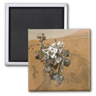 Mars Rover Curiosity at Rocknest Fridge Magnets