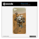 Mars Rover Curiosity at Rocknest Decal For The iPhone 4S