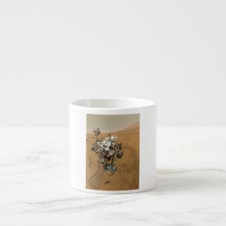 Mars Rover Curiosity at Rocknest 6 Oz Ceramic Espresso Cup