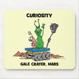 Mars Rover Curiosity Mouse Pad