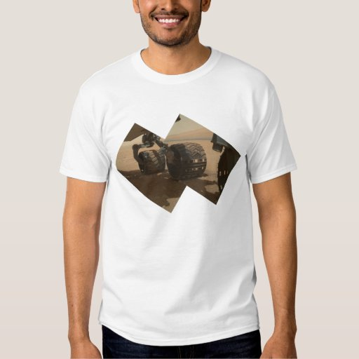 Mars Rover Curiosity, Ready to Roll T-Shirt