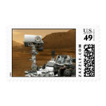 Mars Rover Curiosity Stamps
