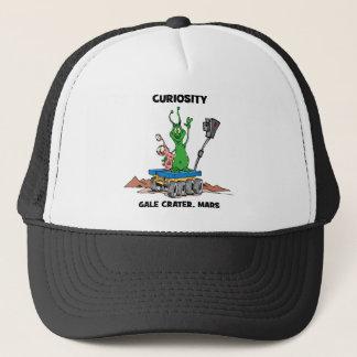 Mars Rover Curiosity Trucker Hat