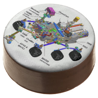 Mars Rover Diagram Science Chocolate Dipped Oreos