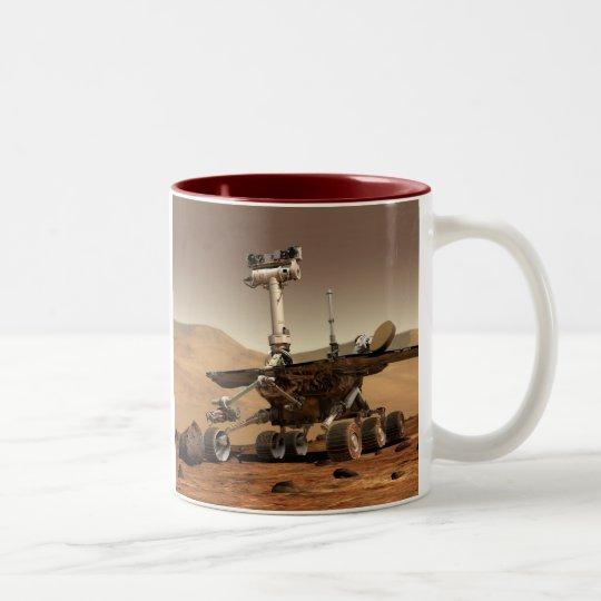 Mars Rover, MarsRover Two-Tone Coffee Mug