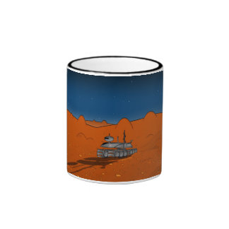 mars rover ringer coffee mug