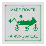 Mars Rover Parking Print