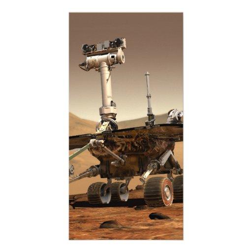Mars Rover Photo Card