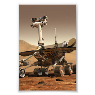 Mars Rover Photographic Print