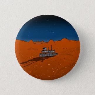 mars rover pinback button