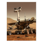 Mars Rover Postcard