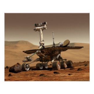 Mars Rover Poster
