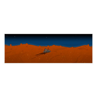mars rover posters