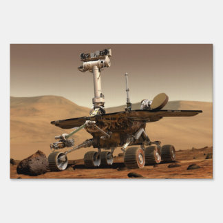 Mars Rover Sign