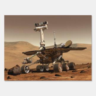 Mars Rover Yard Sign