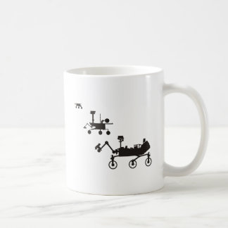 Mars Rovers Coffee Mug
