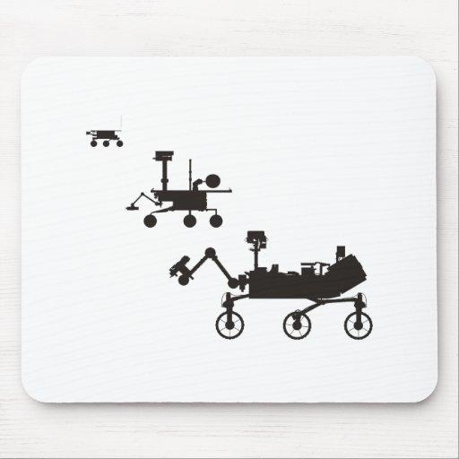 Mars Rovers Mousepad