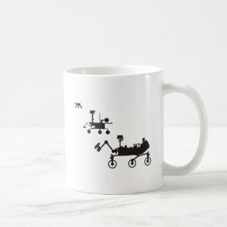 Mars Rovers Classic White Coffee Mug