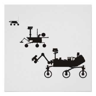 Mars Rovers Poster