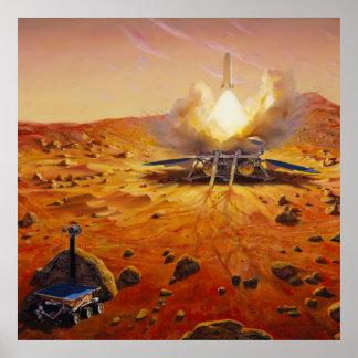Mars Sample Return Mission Poster
