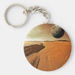 Mars Sand Keychain