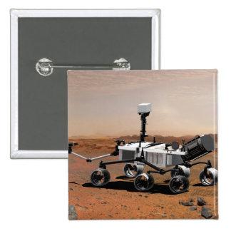 Mars Science Laboratory 2 Pinback Button