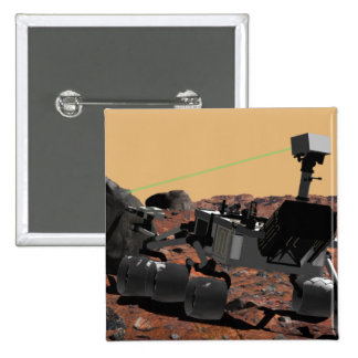 Mars Science Laboratory 3 Button