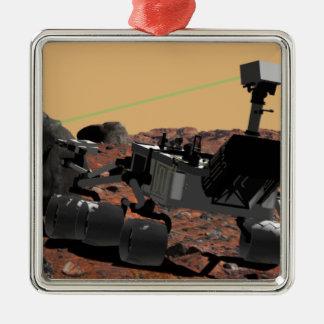 Mars Science Laboratory 3 Metal Ornament