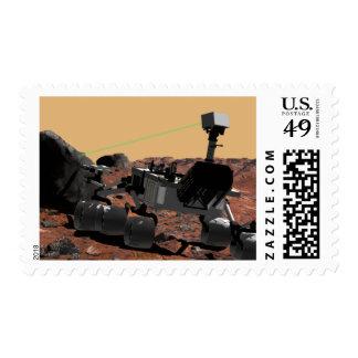 Mars Science Laboratory 3 Postage