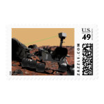 Mars Science Laboratory 3 Postage Stamps