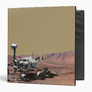 Mars Science Laboratory 3 Ring Binder