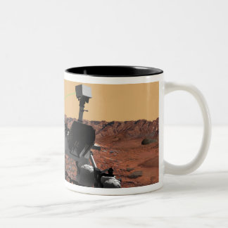 Mars Science Laboratory 3 Two-Tone Coffee Mug