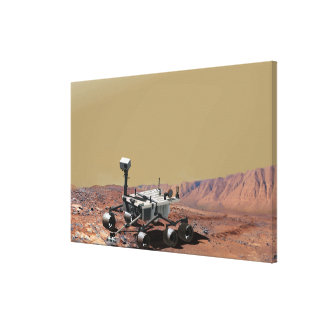Mars Science Laboratory Canvas Print