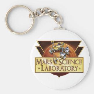 Mars Science Laboratory Landing Team Logo Basic Round Button Keychain
