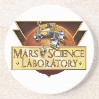 Mars Science Laboratory Landing Team Logo Coasters