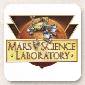 Mars Science Laboratory Landing Team Logo Drink Coasters
