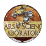 Mars Science Laboratory Landing Team Logo Dartboard