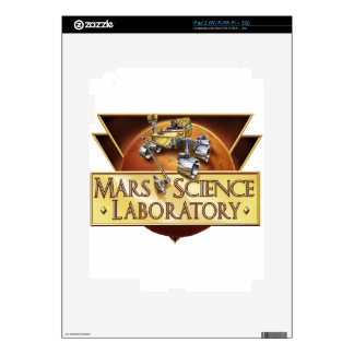 Mars Science Laboratory Landing Team Logo iPad 2 Skins