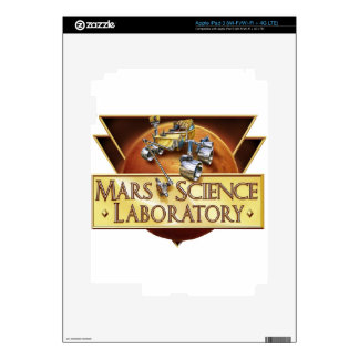 Mars Science Laboratory Landing Team Logo iPad 3 Skins