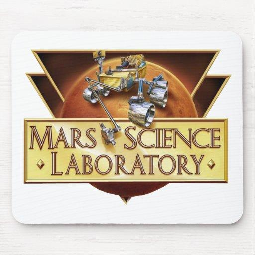Mars Science Laboratory Landing Team Logo Mouse Pad