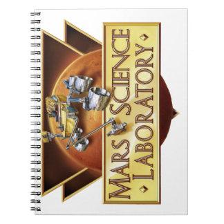 Mars Science Laboratory Landing Team Logo Notebook