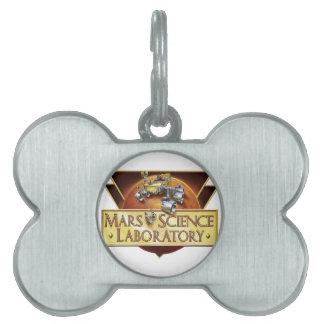 Mars Science Laboratory Landing Team Logo Pet ID Tag