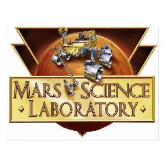 Mars Science Laboratory Landing Team Logo Postcards