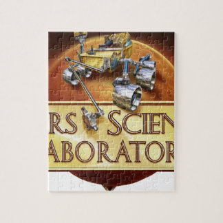 Mars Science Laboratory Landing Team Logo Puzzle