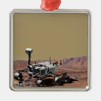 Mars Science Laboratory Metal Ornament