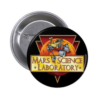 Mars Science Laboratory Mission Logo Button