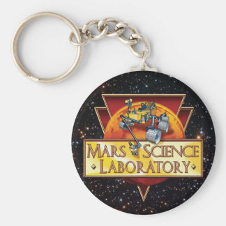 Mars Science Laboratory Mission Logo Keychain