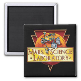 Mars Science Laboratory Mission Logo Magnet