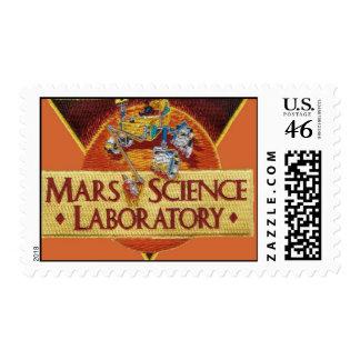 MARS SCIENCE LABORATORY MISSION LOGO POSTAGE STAMPS