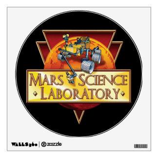 Mars Science Laboratory Mission Logo Wall Sticker